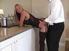 Rusebis sex ქერა ცოლი.... არა ის, რომ მას cum?